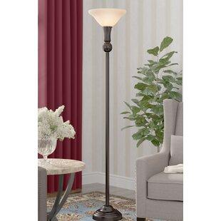 Inexpensive Krauss 3-Way 72 Torchiere Floor Lamp By Winston Porter