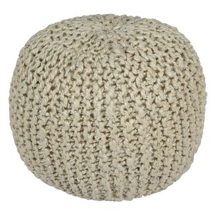 Compare Kurth Rope Pouf By Mercury Row