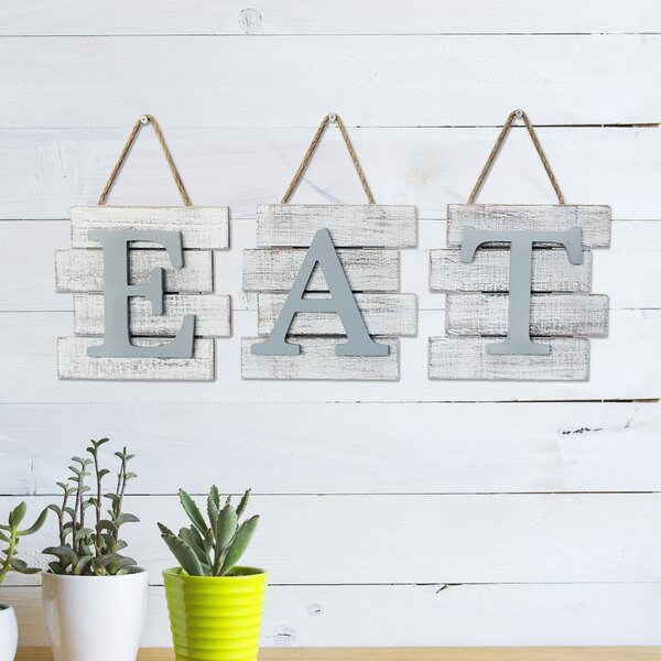 Eat Wall Decor Wayfair
