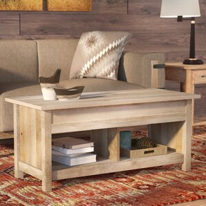 Silverheels Lift-Top Coffee Table by Loon Peak