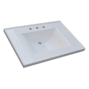 Best Price Premier 31 Single Bathroom Vanity Top BySagehill Designs