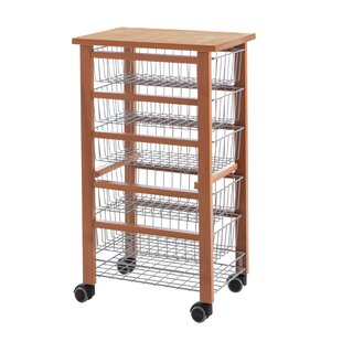 Montanez Kitchen Trolley By Marlow Home Co.