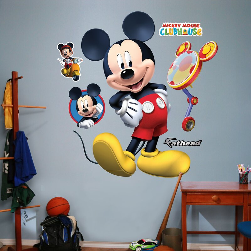 Charmant Disney Mickey Mouse Clubhouse Wall Decal