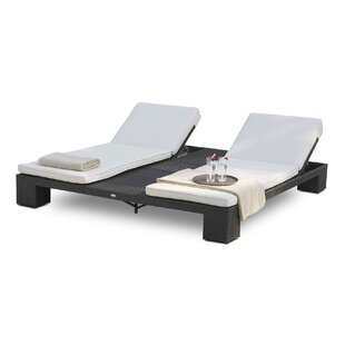 Brayden Studio Westcott Double Chaise Lounge