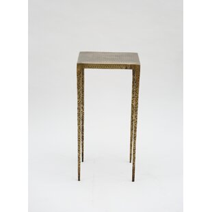 Mickinley Iron Hammered End Table
