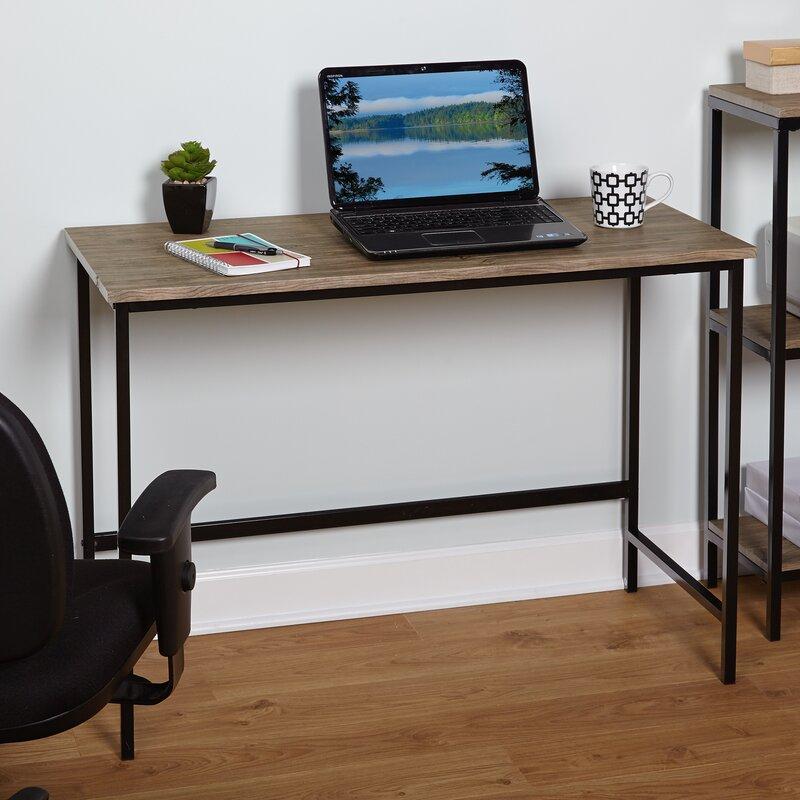 All Wood Office Desk: Forteau Writing Desk & Reviews