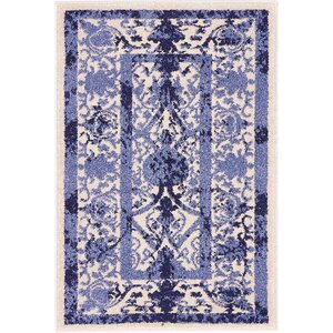 Shailene Blue Indoor/Outdoor Area Rug