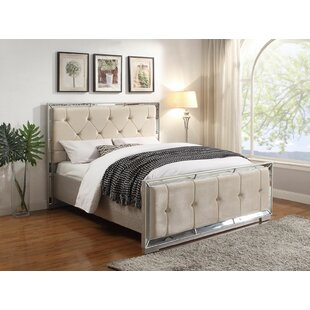 Adriana Upholstered Bed Frame By Willa Arlo Interiors