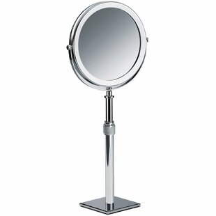 Maier Height Adjustable Makeup/Shaving Mirror By Latitude Run