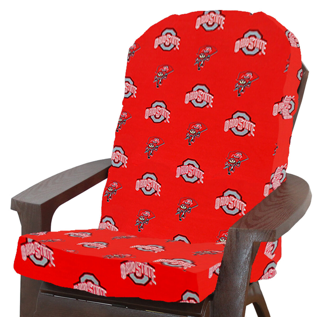 College Covers Ncaa Ohio State Indoor Outdoor Adirondack Chair Cushion Wayfair