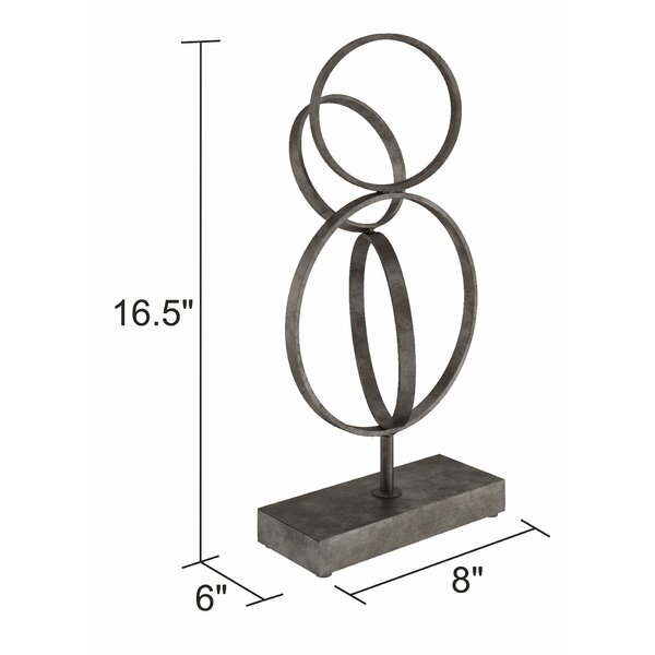 Hursey Abstract Metal Sculpture