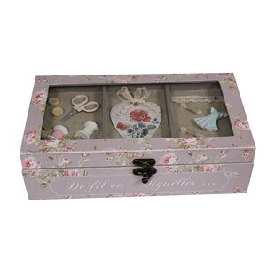 Sewing Wood Box By Brambly Cottage