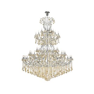 Regina 84-Light Chandelier by House of Hampton