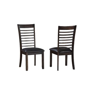 Lapinski Solid Wood Dining Chair (Set of 2) Winston Porter