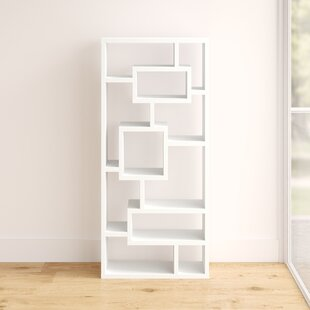 Cleisthenes Geometric Bookcase by Mercury Row Read Reviews