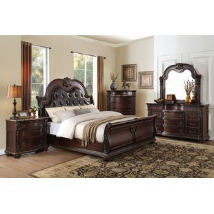 Caitlyn Sleigh Configurable Bedroom Set