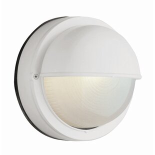 Foley 1-Light Outdoor Bulkhead Light