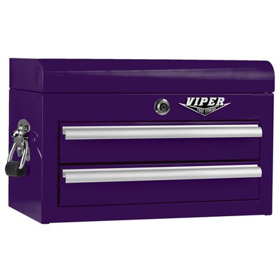 """18""""W 2-Drawer Top Chest Viper Tool Storage"""