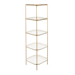 Shamrock 5 Tier Etagere Bookcase by Everly Quinn