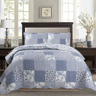 Humberto Printed Pre-Washed Reversible Quilt Set