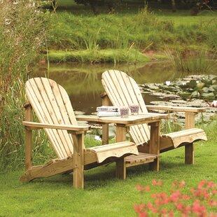 Lamborn Wooden Love Seat Image