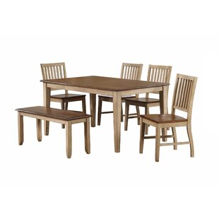 Huerfano Valley 6 Piece Dining Set Loon Peak