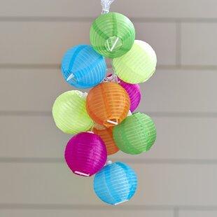 Wrought Studio Binns 10-Light 35 ft. Lantern String Lights