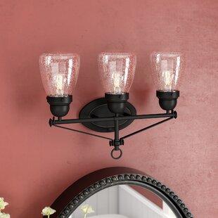 Affordable Harborcreek 3-Light Vanity Light By Laurel Foundry Modern Farmhouse
