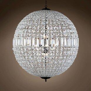 Franz 8-Light Crystal Chandelier by Astor..