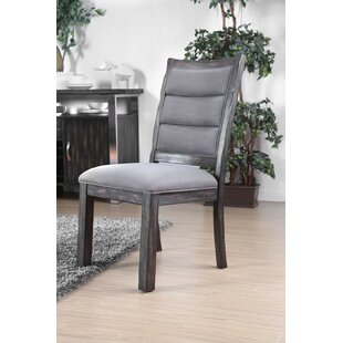 Defiance Upholstered Dining Chair (Set of 2) Gracie Oaks