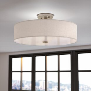 Alina 4 Light Semi Flush Mount