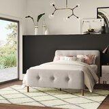 Ellicott Upholstered Platform Bed by Mercury Row®