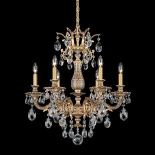 Schonbek Milano 6-Light Chandelier