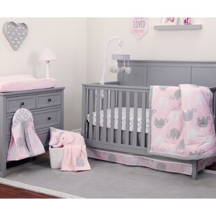 Navy And Pink Crib Bedding Wayfair