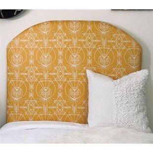 Zoomie Kids Houtz Beveled Twin/Twin XL UpholsteredPanel Headboard