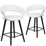 Palafox Counter & Bar Stool (Set of 2) by Orren Ellis