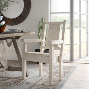 Abella Captain's Solid Wood Dining Chair by Loon Peak