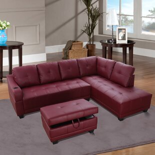 Leelou Sectional with Ottoman