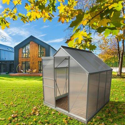 6 Ft. W x 6 Ft. D Greenhouse ALEKO