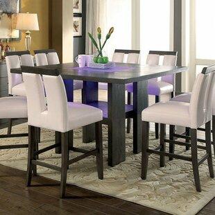 Orren Ellis Ballintoy Contemporary Counter Height Dining Table