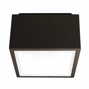 Modern Forms Bloc 1-Light LED Flush Mount
