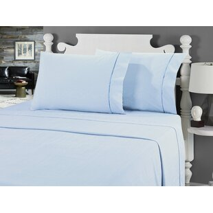 Galante Heathered Striae Microfiber Sheet Set