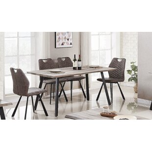 Javen Live Edge 5 Piece Dining Set 17 Stories