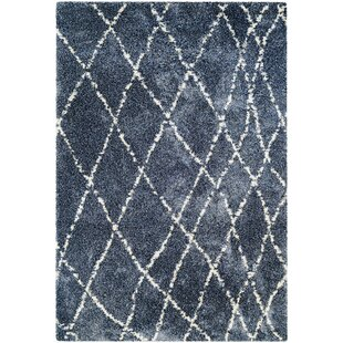 Top Reviews Arona Blue/Snow Area Rug By Wade Logan