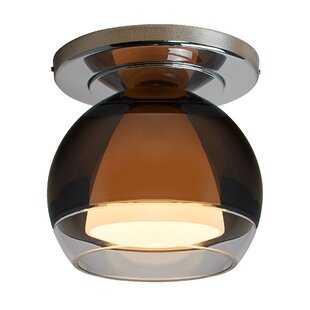 Bruck Lighting Matrix 1-Light Flush Mount