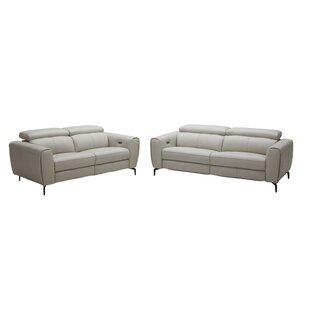 Nakale Leather Reclining Sofa ..