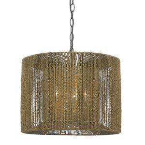 Lamar 3-Light Drum Pendant