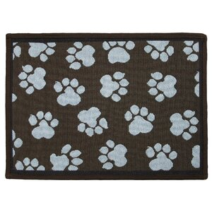 PB Paws & Co. Woodland / Sea Spray World Paws Tapestry Area Rug