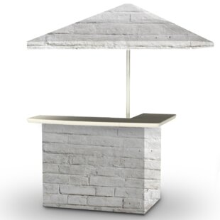 Cinderblock Home bar by Be..