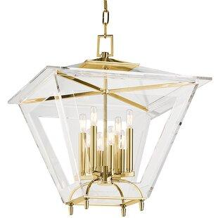 Andover 8-Light Foyer Lantern Pendant by Hudson Valley Lighting